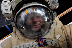 The Russian made a selfie in outer space