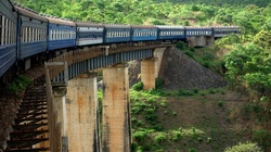 In Africa has paved a new railroad