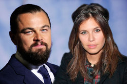 Dasha Zhukov was caught in the arms DiCaprio