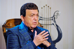 "Kobzon wants to ""stuff your face"" the offender Friske"