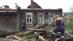 In the Urals eliminate the effects of the powerful storm