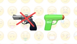 Apple will replace the emoticon depicting a gun