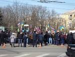 Protesters in Lugansk liberated the city Executive Committee and the regional Prosecutor office