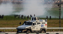 Turkish troops shot civilians on the border
