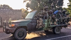 Senegalese troops entered the Gambia