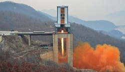 North Korea tested rocket engine