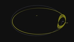 Asteroid 2014 JO25 passed at a minimum distance from the Earth