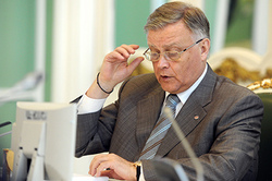 Yakunin announced the retirement from the Board of Directors of Russian Railways