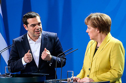 Merkel knew in advance about the resignation Tsipras