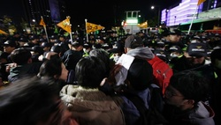 In South Korea, the brewing political upheaval