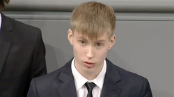 Peskov urged not to condemn a student for speaking in the Bundestag