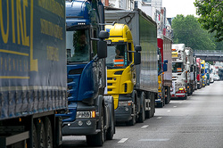 Truckers are ready to break the blockade of the Crimea
