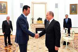The Assad visit to Moscow will speed up the end of the crisis in the country