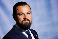Leonardo DiCaprio will sit behind the wheel of a race car