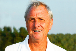 Johann Cruyff was diagnosed with lung cancer