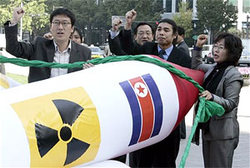 The Prime Minister of Japan is concerned about the nuclear ambitions of the DPRK