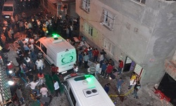 Kurdish wedding in Turkey explosion