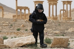 Engineers in Syria start demining of residential areas