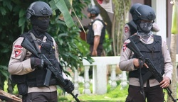 In Indonesia during the RAID were killed 3 terrorists