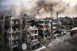 Hundreds of militants and civilians out of Aleppo