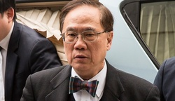 Sentenced the former head of Hong Kong Donald Tsang