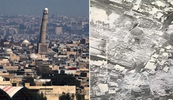 ISIL blew up a historic mosque in Mosul