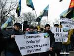 The miners promise to hold a meeting in Kiev, as long as they do not hear the power