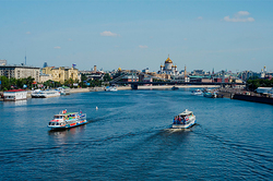 The banks of the Moscow river will be built in houses