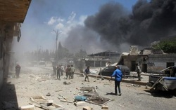 In Syria during an air strike killed 20 people