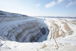 "In Yakutia, completed work on the diamond mine ""International"""