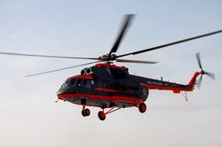 Naval aviation received its first Arctic Mi-8