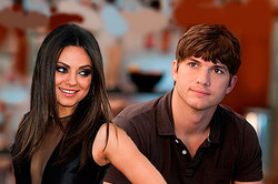 Mila kunis has admitted in marriage to Kutcher