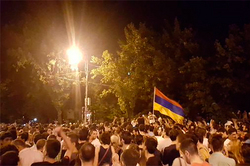 In the protests in Armenia found trace USA