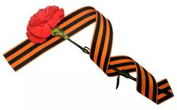 "In Russia today started the action ""St. George ribbon"""