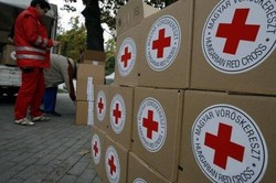 In Donetsk arrived the 55th convoy with humanitarian aid