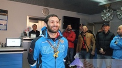 In Orenburg triumphantly returned judoka Robert Mshvidobadze