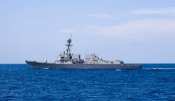 US warship challenged the statements of China