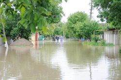 In the Stavropol region because of the floods to evacuate people