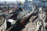 "The company ""Yantar"" launched the frigate ""Admiral Makarov"" September 2"