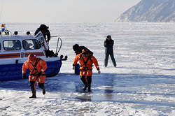 In the Irkutsk region 3 children fell through the ice