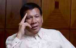 "Duterte: I will not ""rag"" for the international community"