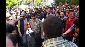Russian diplomats met with leaders of the protests in Armenia