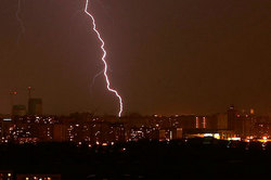 Lightning killed a man because of the cell phone