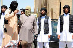 "The militants of the Islamic state"" executed gay"