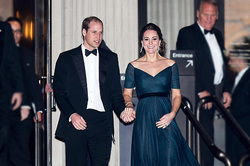 Kate and William appeared at the premiere of James bond