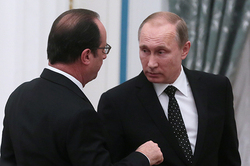 Putin and Hollande discussed strategy against the Islamic state