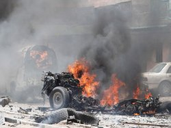In Somalia suicide bombers blew up 2 cars