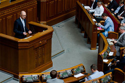 In the Parliament hatch a plot against Yatsenyuk