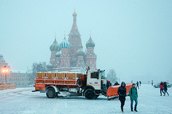 In Moscow frosts are coming