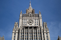 The Russian foreign Ministry ribbed U.S. Secretary of state